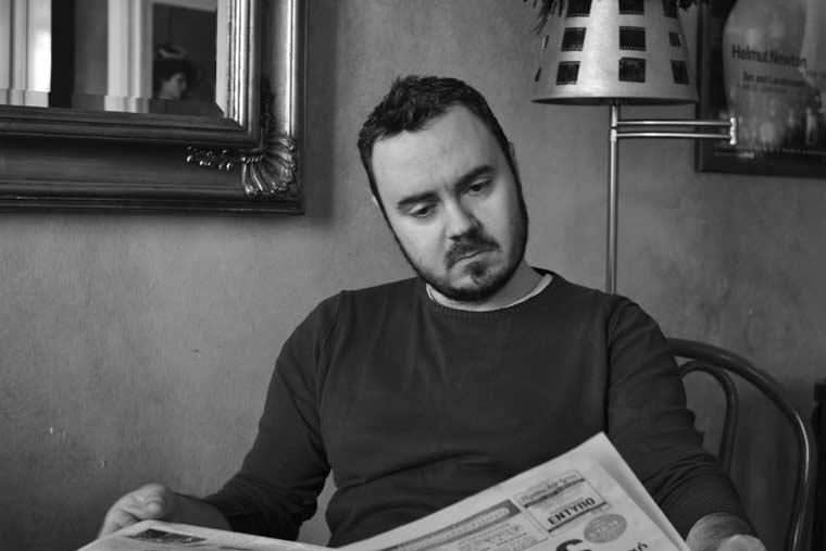 Ο συγγραφέας Θοδωρής Κούκιας συνομιλεί με τον Μίλτο Γήτα