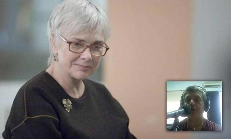 H Ξένια Καλογεροπούλου, ηθοποιός-συγγραφέας, μιλάει στο Διονύση Λεϊμονή