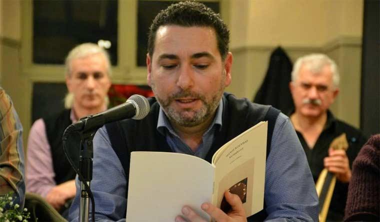 O Θάνος Κόσυβας, συγγραφέας, μιλάει στο Διονύση Λεϊμονή