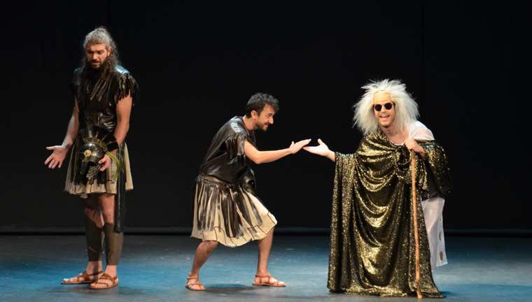«Ιφιγένεια εν γένει... tragic!», της Λίλιαν Δημητρακοπούλου, από τη θεατρική ομάδα, «Theatreloi»