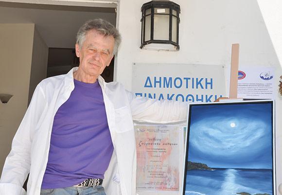 «Η Ελλάδα που ΔΕΝ με πληγώνει…», έκθεση του ζωγράφου Γιώργου Μπαρτζιώκα